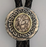 Pegasus, AR Stater, Sterling Silver and 14kt Gold Bolo