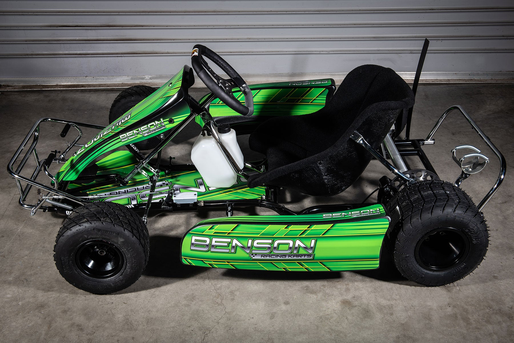Benson Racing Kart Side View