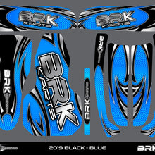 Sticker Kit - Fusion X1 (Black)