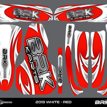 Sticker Kit - Fusion X1 (White)