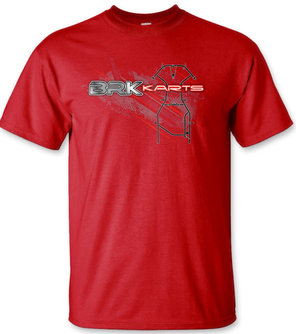 ADULT T SHIRT - RED