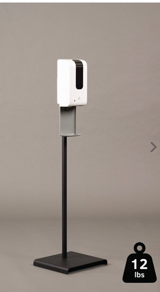 Metal Sanistand Compatible with our wall Mount dispensers.