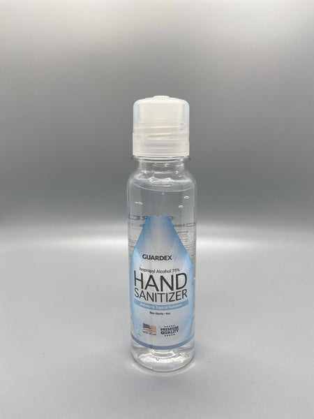 75% ISO Alcohol Gel Hand Sanitizer 4oz With Counter Twist Security Locking Top
