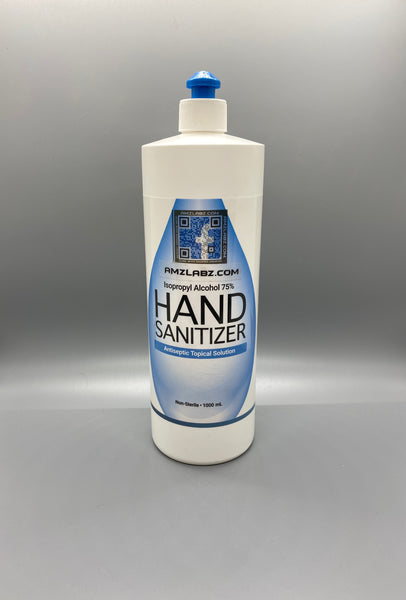75% ISO Alcohol Gel Hand Sanitizer 33.8oz (1000mL)