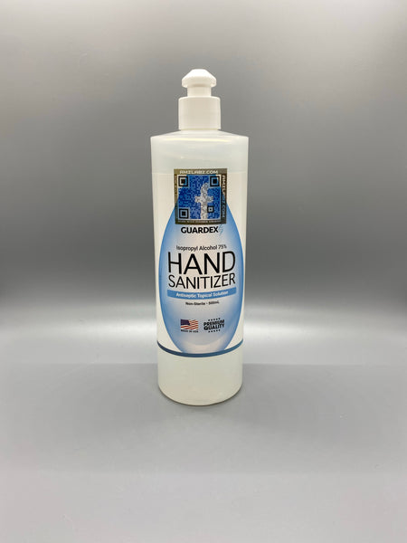 75% ISO Alcohol Gel Hand Sanitizer 16.9oz
