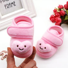 Load image into Gallery viewer, Baby First Walker Shoes Cartoon Print Anti-Slip Cotton Plush Warm Shoes for Winter