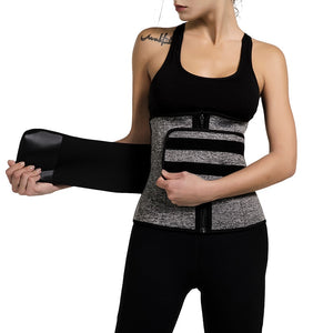 Neoprene Sauna Waist Trainer Corset Sweat Belt for Women Weight Loss Workout Fitness