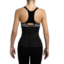 Load image into Gallery viewer, Neoprene Sauna Waist Trainer Corset Sweat Belt for Women Weight Loss Workout Fitness