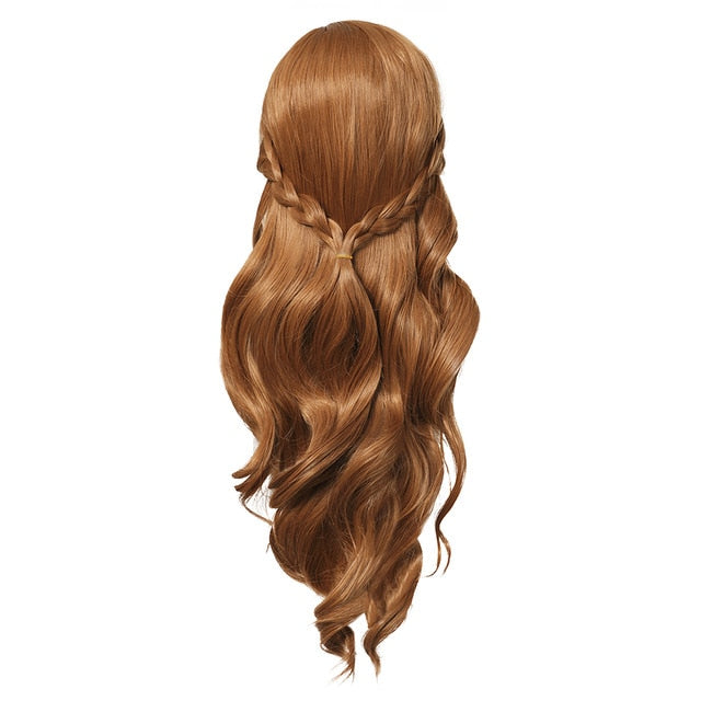 Princess Braided Hair Wig for Girls