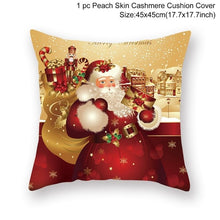 Load image into Gallery viewer, 45x45cm Christmas Pillow Home Decoration