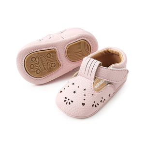 Baby Girls First Step Shoes Soft Bottom Non-slip First Walkers 0M-18M