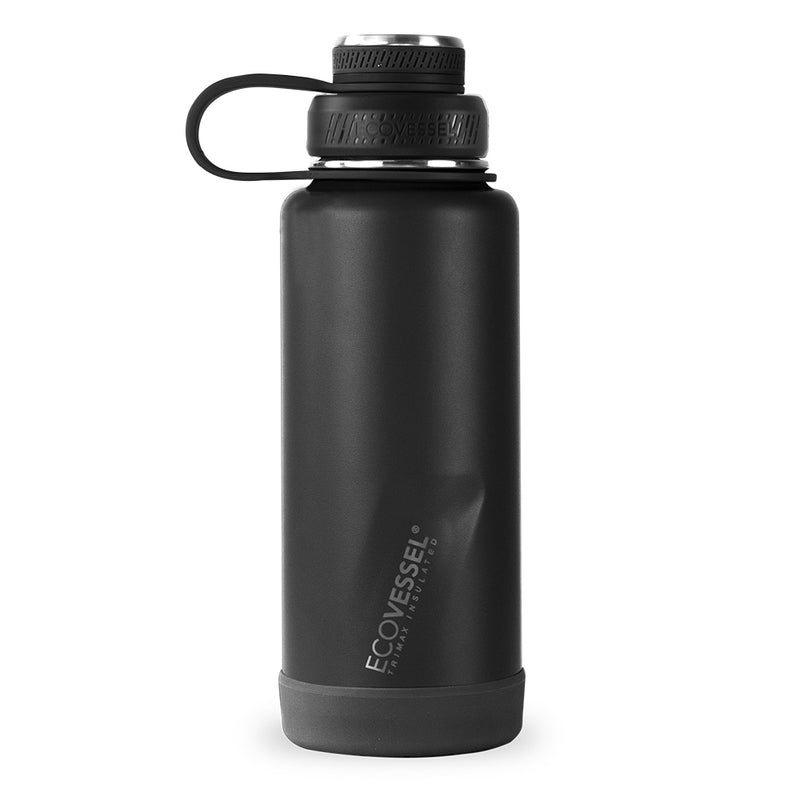 The BOULDER - TriMax Insulated Water Bottle w- Strainer - 946ml (EcoVessel)