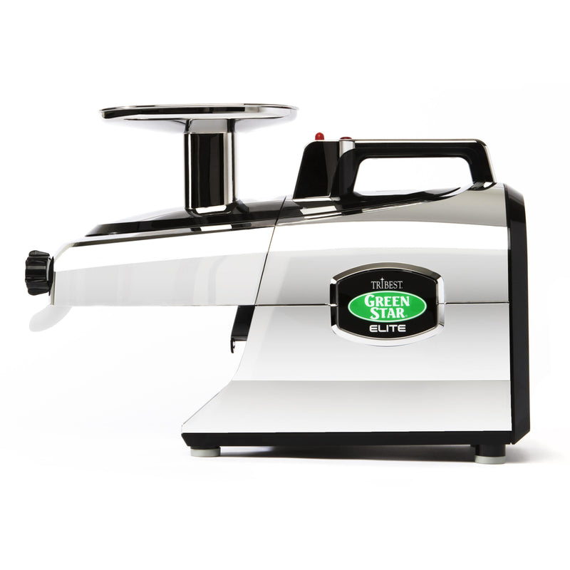 Greenstar Elite Twin Gear Cold Press Juicer (Chrome)