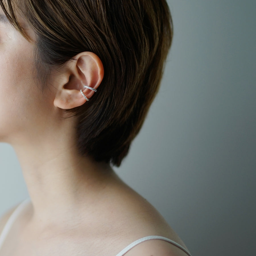 Landscape Eternity Ear Cuff