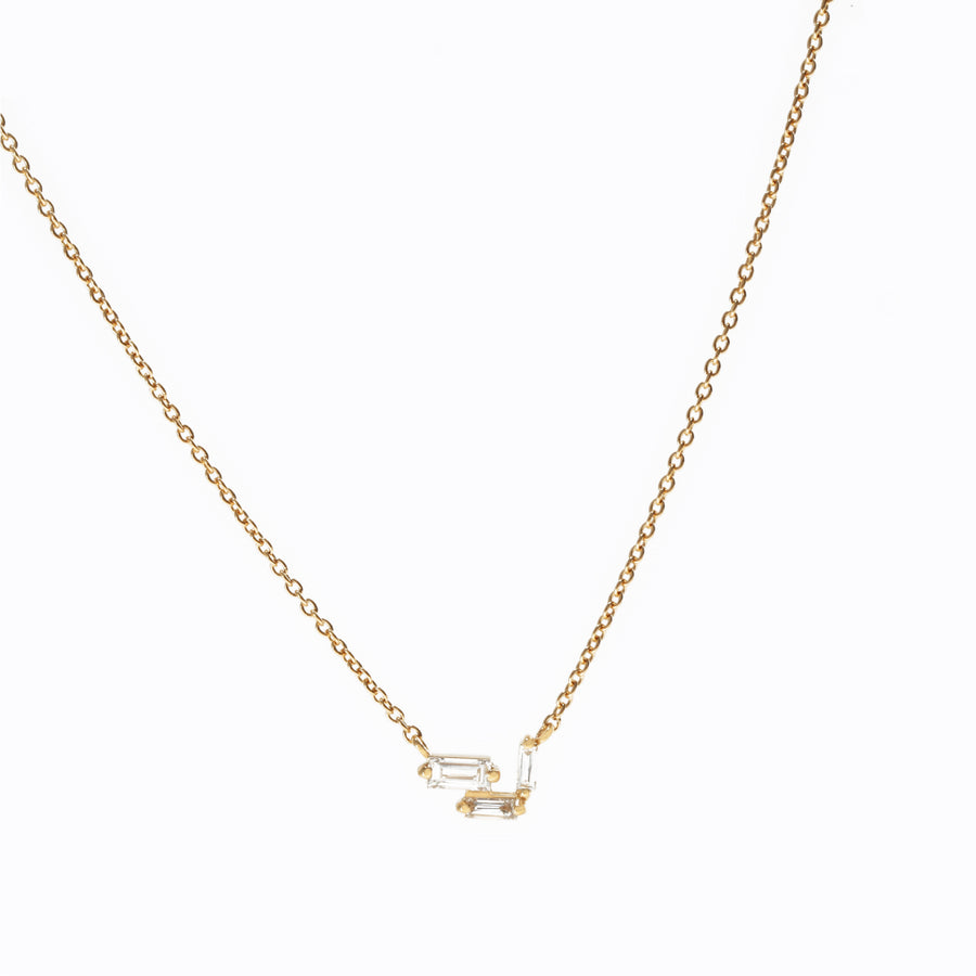 Essence Baguette Necklace 0.1ct