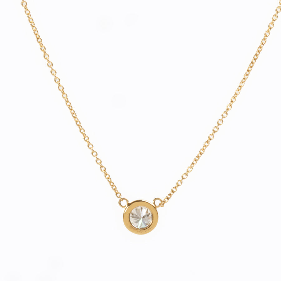 【オーダー品】Sparkle Necklace F0.30ct