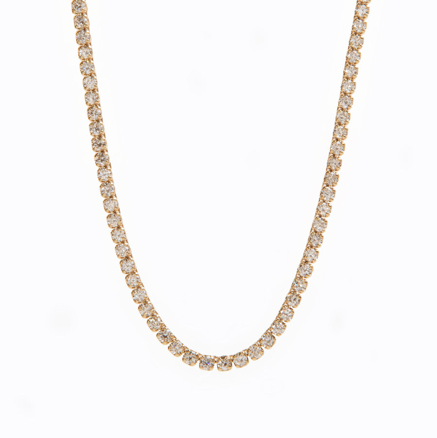 【オーダー品】Sparkle Tennis Necklace 20.03ct/70cm