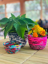 Load image into Gallery viewer, Multi-Coloured Chitenge Cheer Bowls
