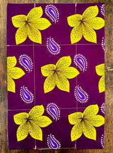 Bouquet Garni Napkins & Aubergine Dream Placemats - Starter Set
