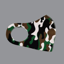 Load image into Gallery viewer, Green Camo Non-medical Mask