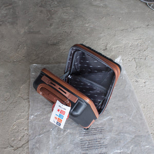 XS Under-the-seat Carry On - Black/Brown
