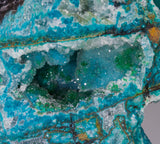 Chrysocolla & Malachite w/ Quartz - Peru