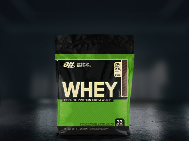OPTIMUM NUTRITION Whey Protein-Protein Land-Protein Land