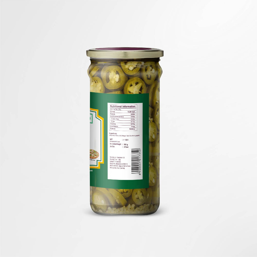 Sliced Jalapeno Peppers 180g