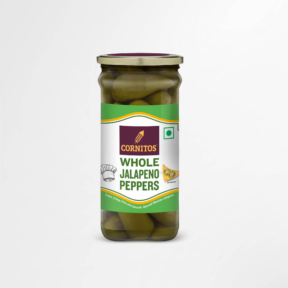 Whole Jalapeno Peppers 180g