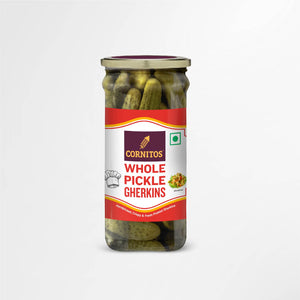 Load image into Gallery viewer, Whole Pickle Gherkins 180g