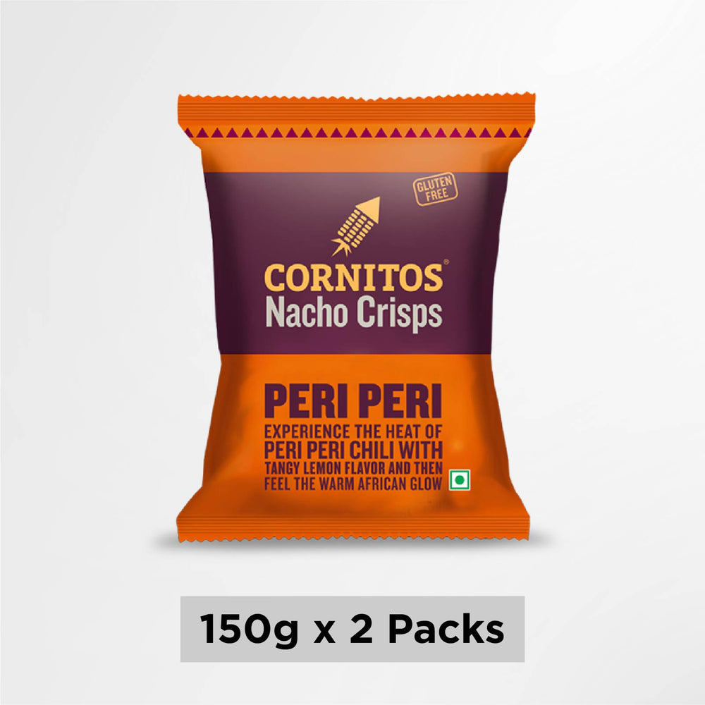 Cornitos Nacho Chips Peri Peri 150g X 2 Pack Combo