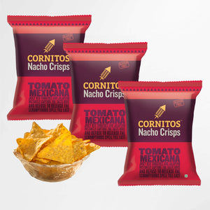 Load image into Gallery viewer, Cornitos Nacho Chips, Tomato Mexicana, 60g X 3 Pack Combo