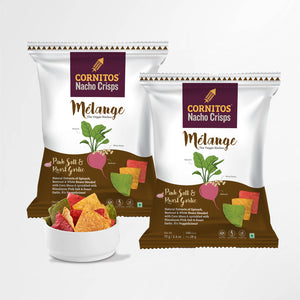 Load image into Gallery viewer, Cornitos Veggie Nachos Mélange 70g X 2 Pack Combo