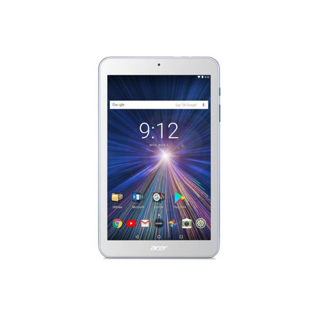 Acer Iconia One 8 B1-870-K7MZ 8 inch MediaTek MT8167B 1.30GHz/ 1GB DDR3L/ 16GB/ Android 7.0 Nougat Tablet (White)