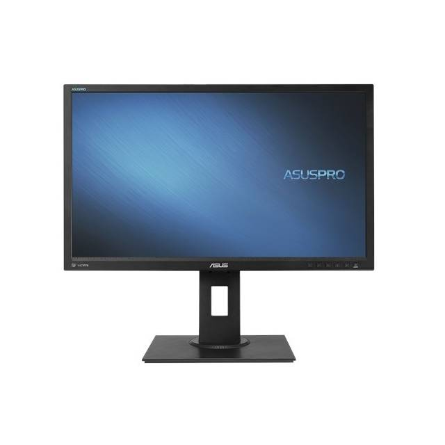 Asus C624AQH 23.8 inch WideScreen 100,000,000:1 5ms VGA/DVI/HDMI/DisplayPort/USB LED LCD Monitor, w/ Speakers (Black)