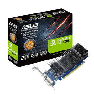 Asus NVIDIA GeForce GT 1030 2GB GDDR5 DVI/HDMI PCI-Express Video Card