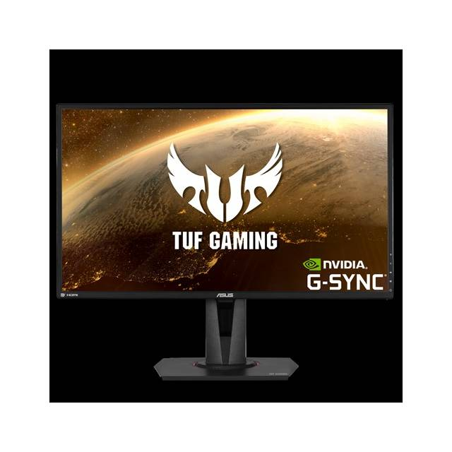 Asus VG27AQ 27 inch WideScreen 1ms 1,000:1 HDMI/DisplayPort LCD Monitor, w/ Speakers (Black)