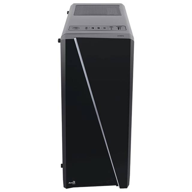 AeroCool CYLON RGB PV1021211 No Power Supply ATX Mid Tower w/ Window (Black)