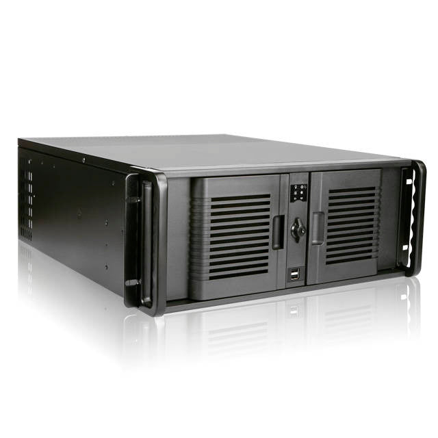 iStarUSA D Storm D-400-7P No PS 4U Rackmount Server Chassis (Black)