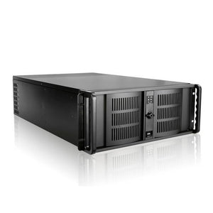 iStarUSA D Storm D-400L-7 No PS 4U Rackmount Server Chassis (Black)