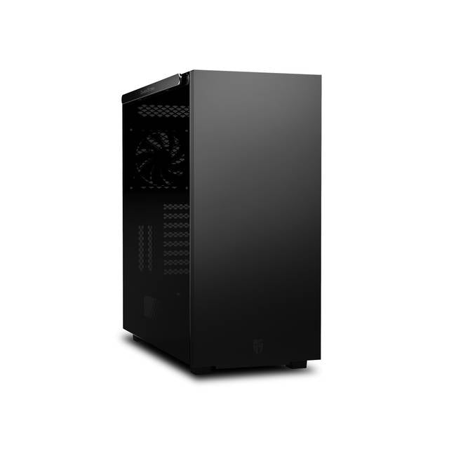 DEEPCOOL Macube 550, Full Tower Case, E-ATX Motherboard and 420mm GPU Supported, with 0.8mm SGCC Steel, Tempered Glass Panel with Aluminum Bar