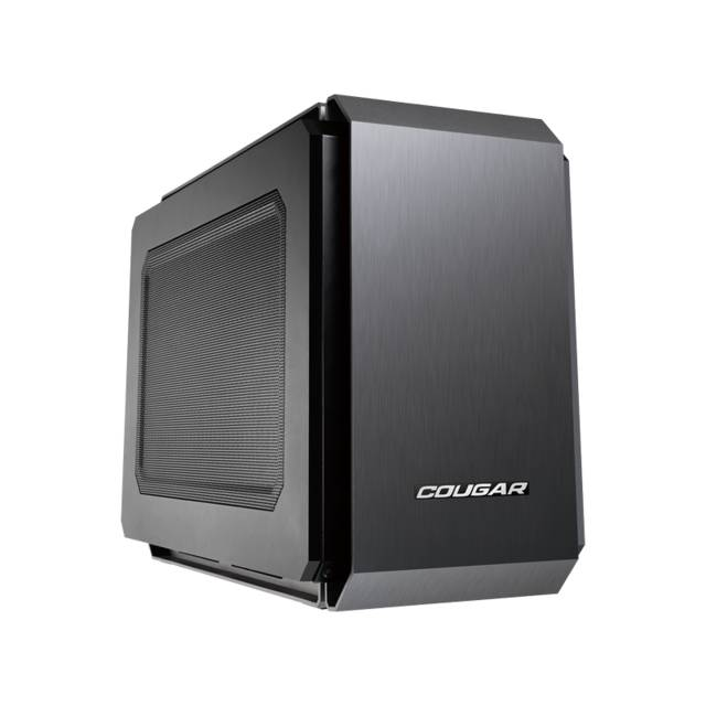Cougar QBX No Power Supply Mini-ITX Case