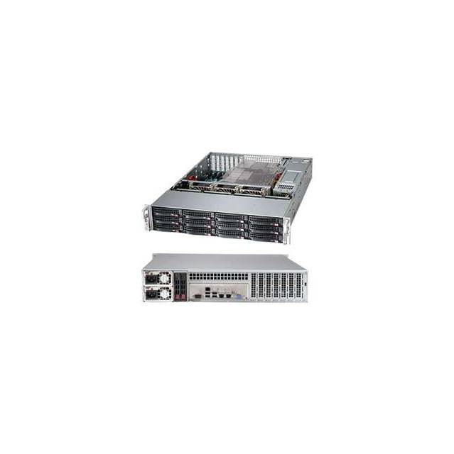 Supermicro SuperChassis CSE-826BE26-R920LPB 920W 2U Rackmount Server Chassis (Black, OPEN BOX)