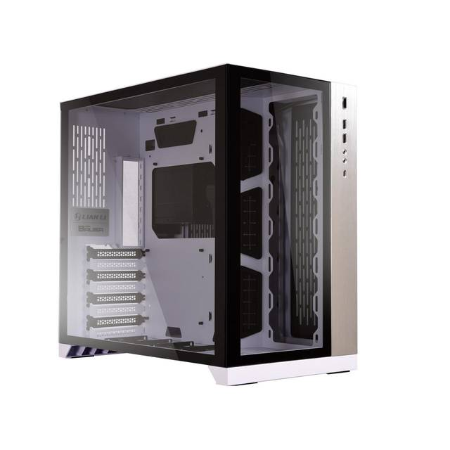 Lian Li PC-O11 Dynamic PC-O11DW No Power Supply ATX Mid Tower (White)