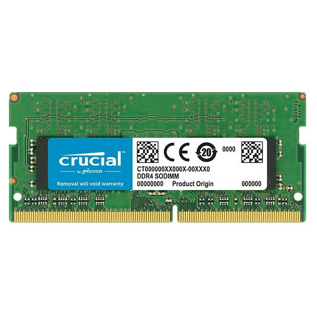 Crucial DDR4-3200 SODIMM 8GB/512Mx64 CL22 Notebook Memory