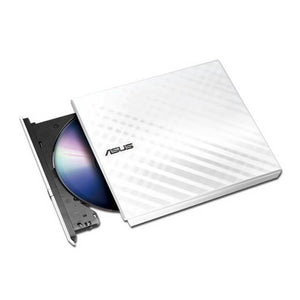 Asus SDRW-08D2S-U/WHT/G/AS 8X USB2.0 DVD+/-RW Slim External Writer (White), Retail