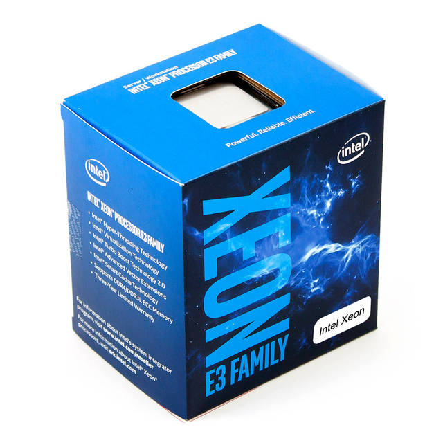 Intel Xeon E3-1220 v6 Quad-Core Kaby Lake Processor 3.0GHz 8.0GT/s 8MB LGA 1151 CPU, Retail