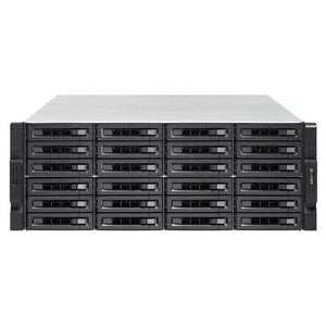QNAP TS-2483XU-RP-E2136-16G-US Intel Xeon E-2136 3.3GHz/ 16GB DDR4/ 6GbE/ 24SATA/ USB3.1/ 24-Bay 4U Rackmount NAS for Enterprise