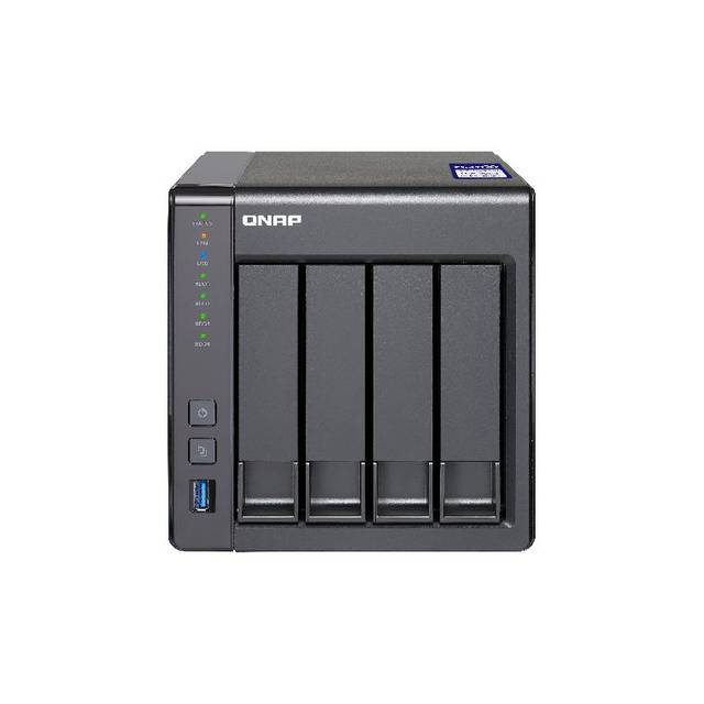QNAP TS-431X2-2G-US Annapurna Labs AL-314 1.7GHz/ 2GB RAM/ 3GbE/ 4SATA3/ USB3.0/ 4-Bay Desktop NAS for SMB
