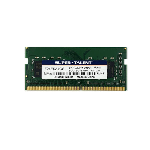 Super Talent DDR4-2400 SODIMM 4GB ECC Hynix Chip Notebook Memory
